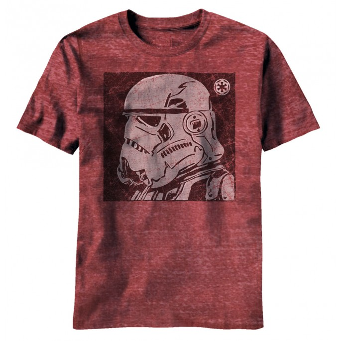 Star Wars Stormtrooper Helmet Case Adult T-Shirt