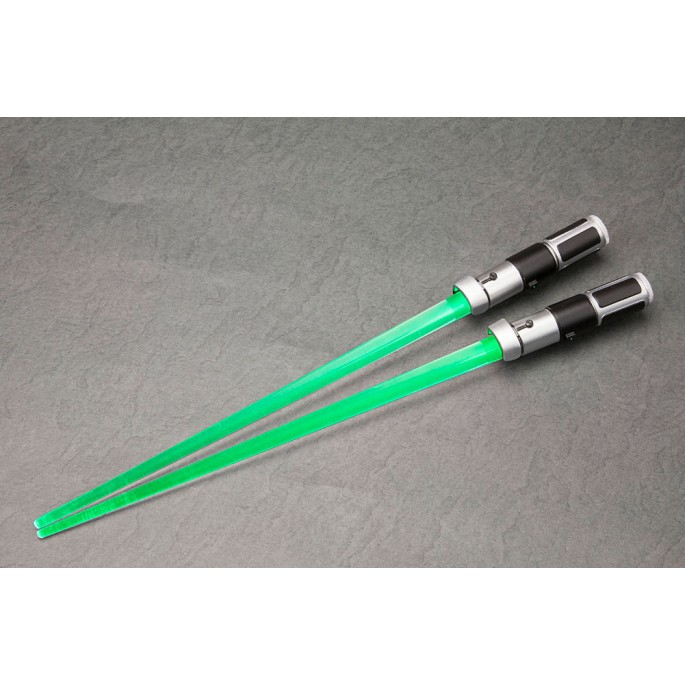 Star Wars Yoda Lightsaber Light Up Chopsticks