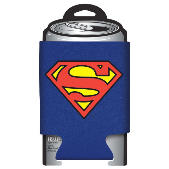 DC Comics Superman Logo Can Cooler