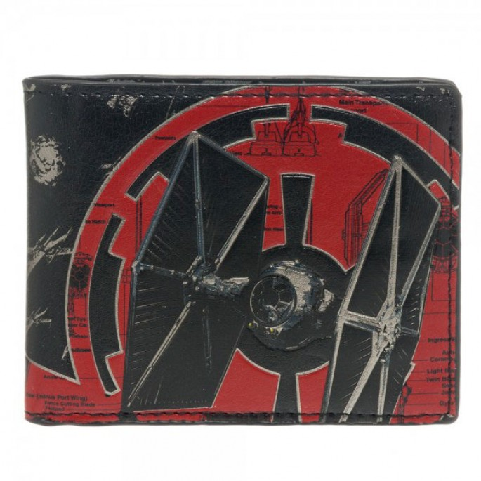 Star Wars Ship Battle TIE Fighter Bi-Fold Wallet