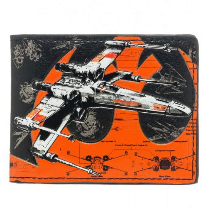 Star Wars Ship Battle X-Wing Bi-Fold Wallet