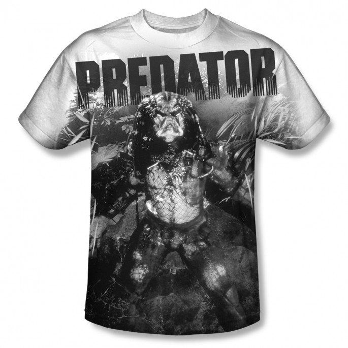 Predator In The Jungle One Sided Sublimation T-Shirt