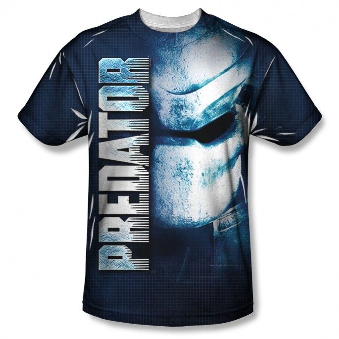 Predator Mask One Sided Sublimation T-Shirt