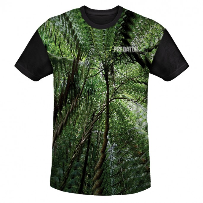 Predator Camouflage One Sided Sublimation T-Shirt