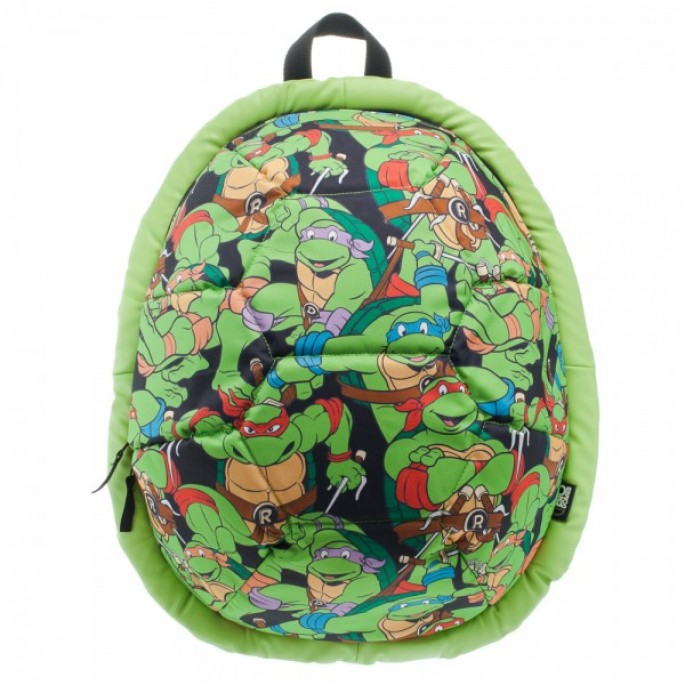 Teenage Mutant Ninja Turtles All Over Sublimated Print Biodome Backpack