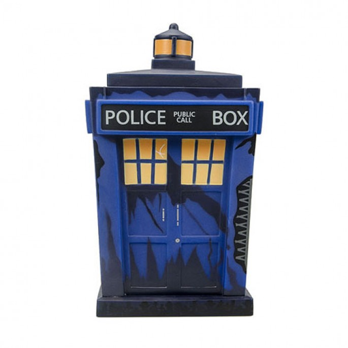 Doctor Who Titans Trenzalore TARDIS 8-Inch Vinyl Figure - 2014 NY Comic Con Exclusive