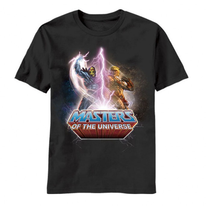 Masters of the Universe Versus Adult T-shirt