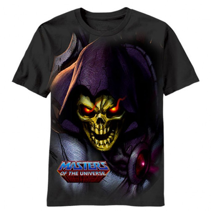 Masters of the Universe Evil Skeletor Adult T-shirt