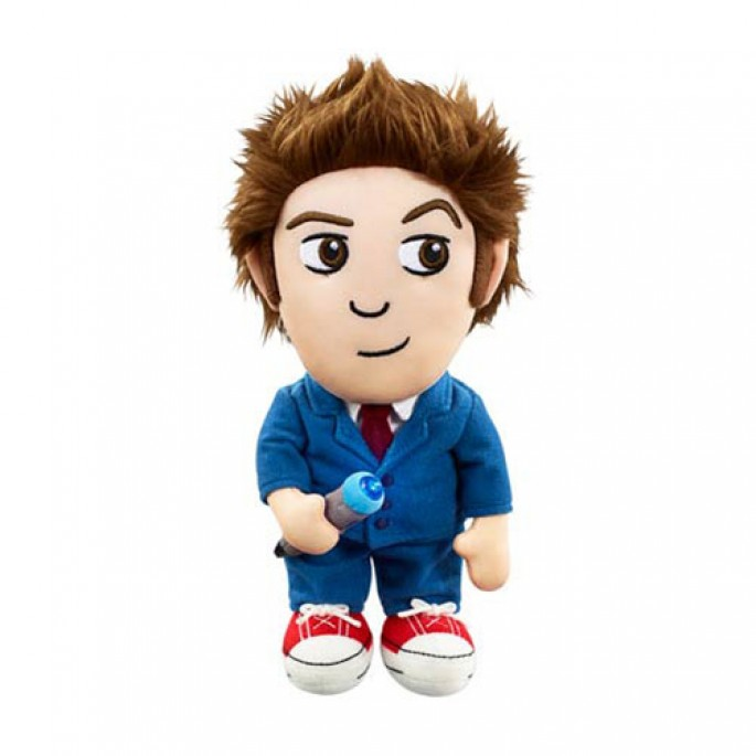 Doctor Who Tenth Doctor Medium Light-Up Plush