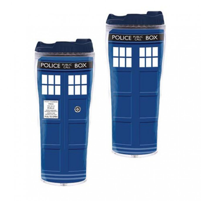 Doctor Who TARDIS Flask