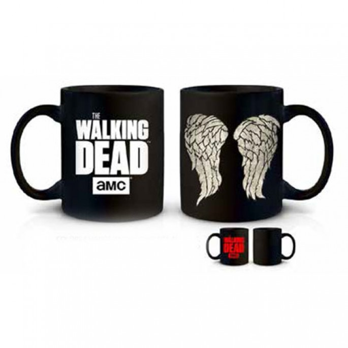 Walking Dead Daryl Wings Heat Changing Mug