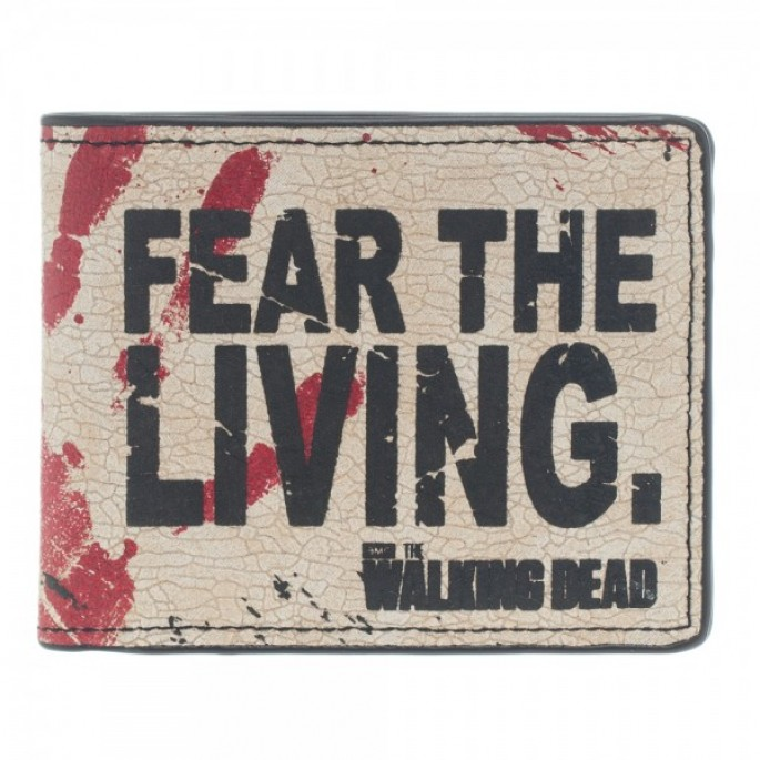 Walking Dead Fear the Living Bi-Fold Wallet