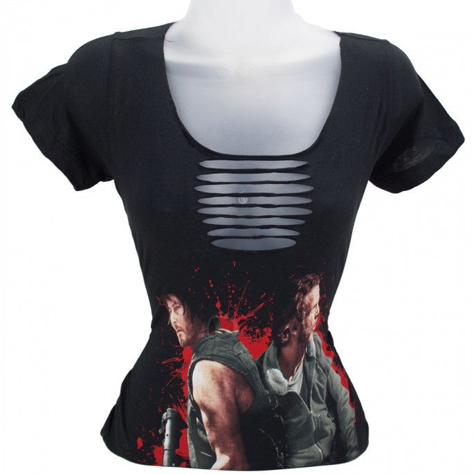 The Walking Dead Got Your Back Braided Women's T-Shirt