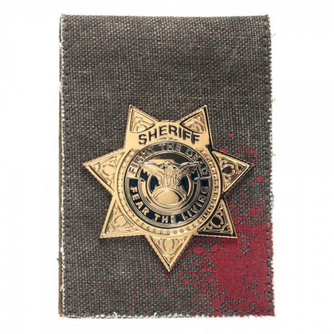 Walking Dead Sheriff Grimes Badge Wallet