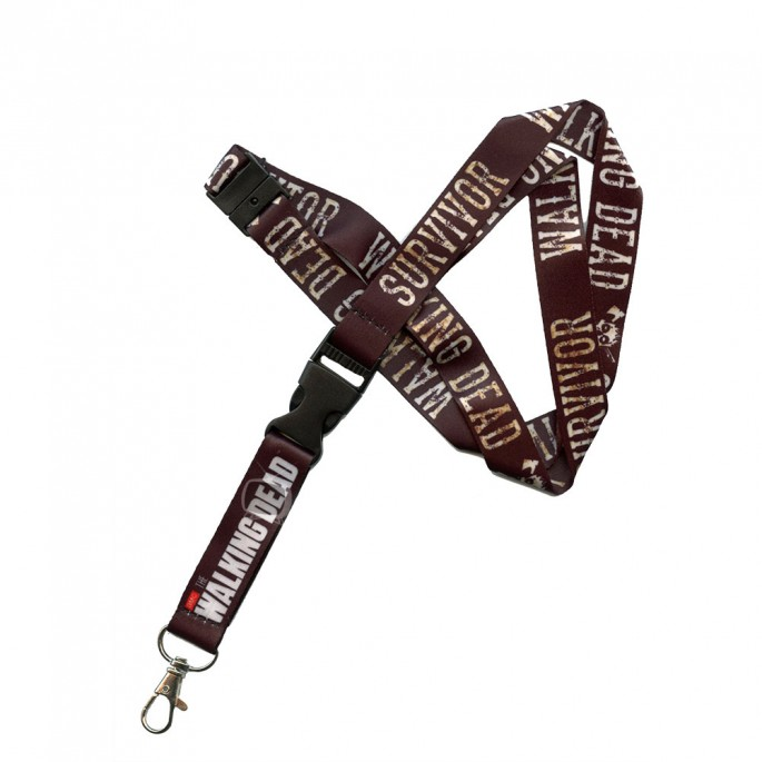 Walking Dead Survivor Lanyard with Keychain Holder