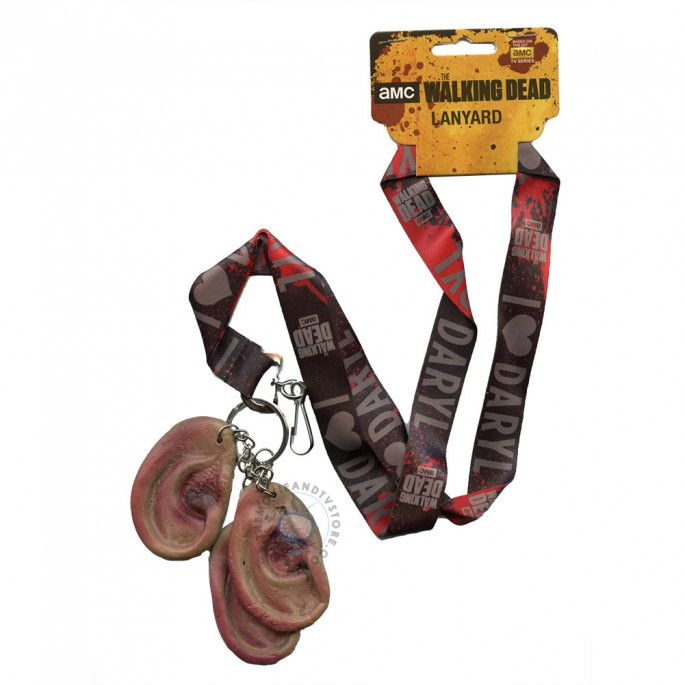 Walking Dead Lanyard With Zombie Ears