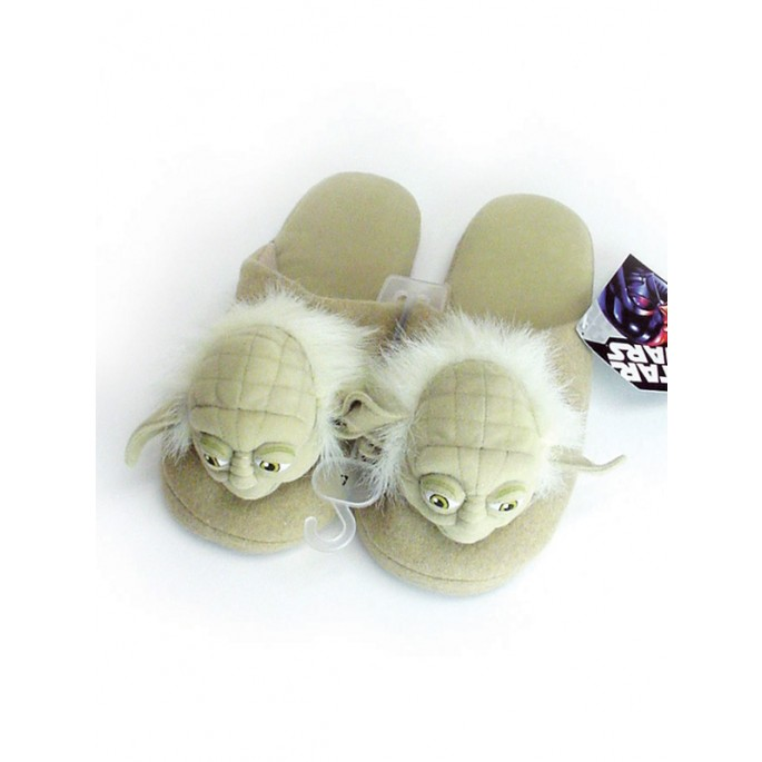 Star Wars Yoda Plush Slippers - Small