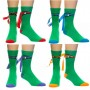 Teenage Mutant Ninja Turtles Mask Crew Sock 4 Pack