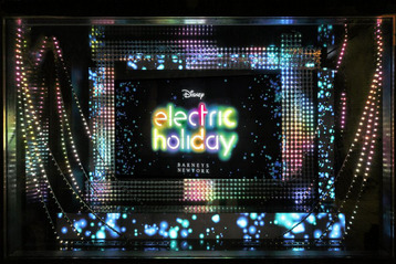 Disney's Electric Holiday at Barneys NY
