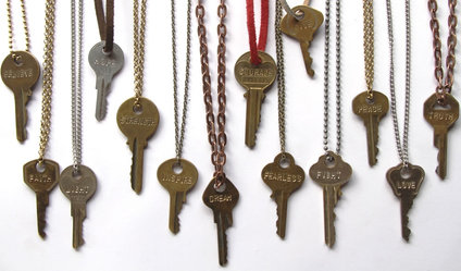 giving keys necklaces