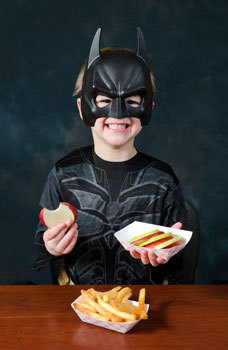 what would batman eat?