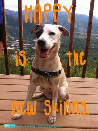 happy is the new skinny