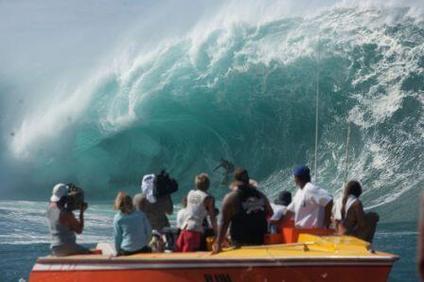 big wave surfer Laird Hamilton