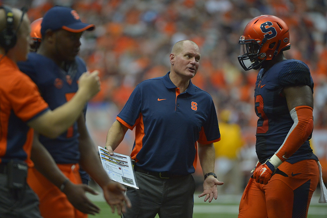 Syracuse faces ex-coach Shafer and Middle Tennessee