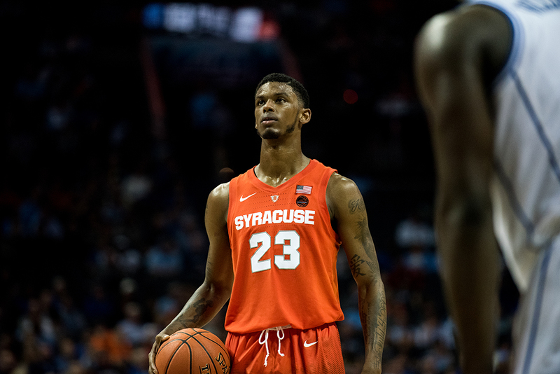 Syracuse senior point guard Frank Howard suspended indefinitely for failed drug test