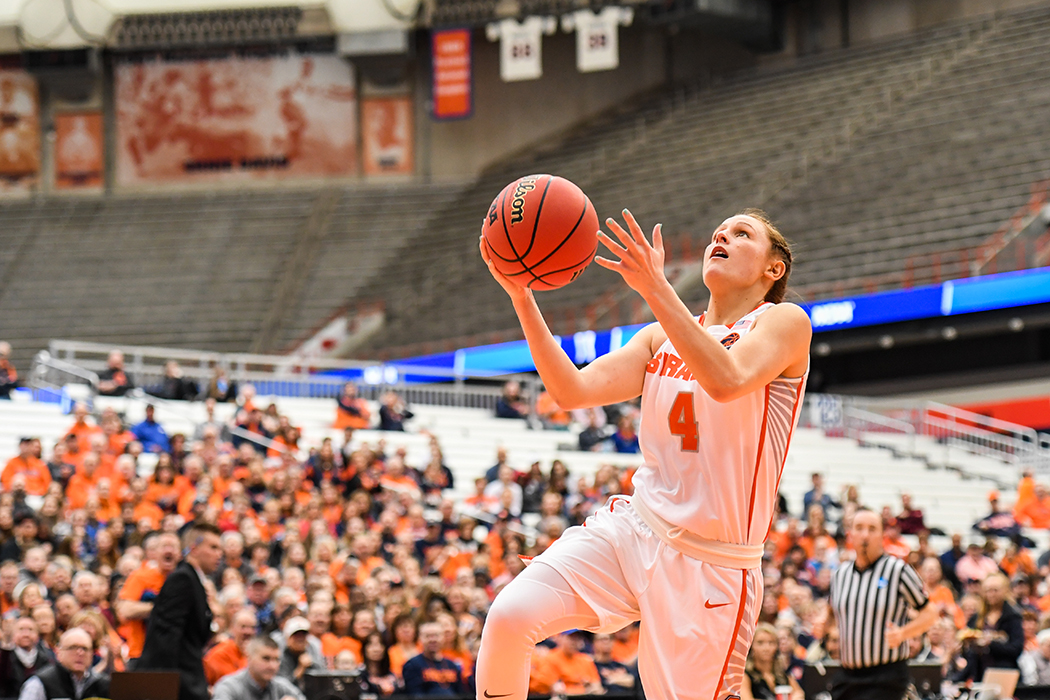 Tiana Mangakahia stars in Syracuse's first round win over Fordham with near triple-double