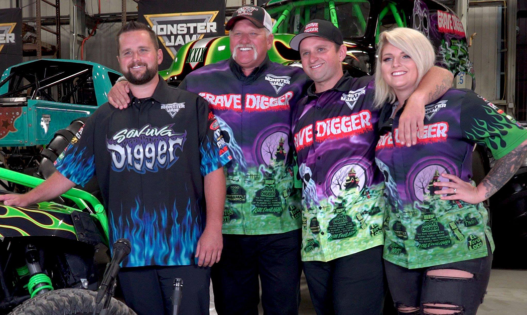 current driver of grave digger