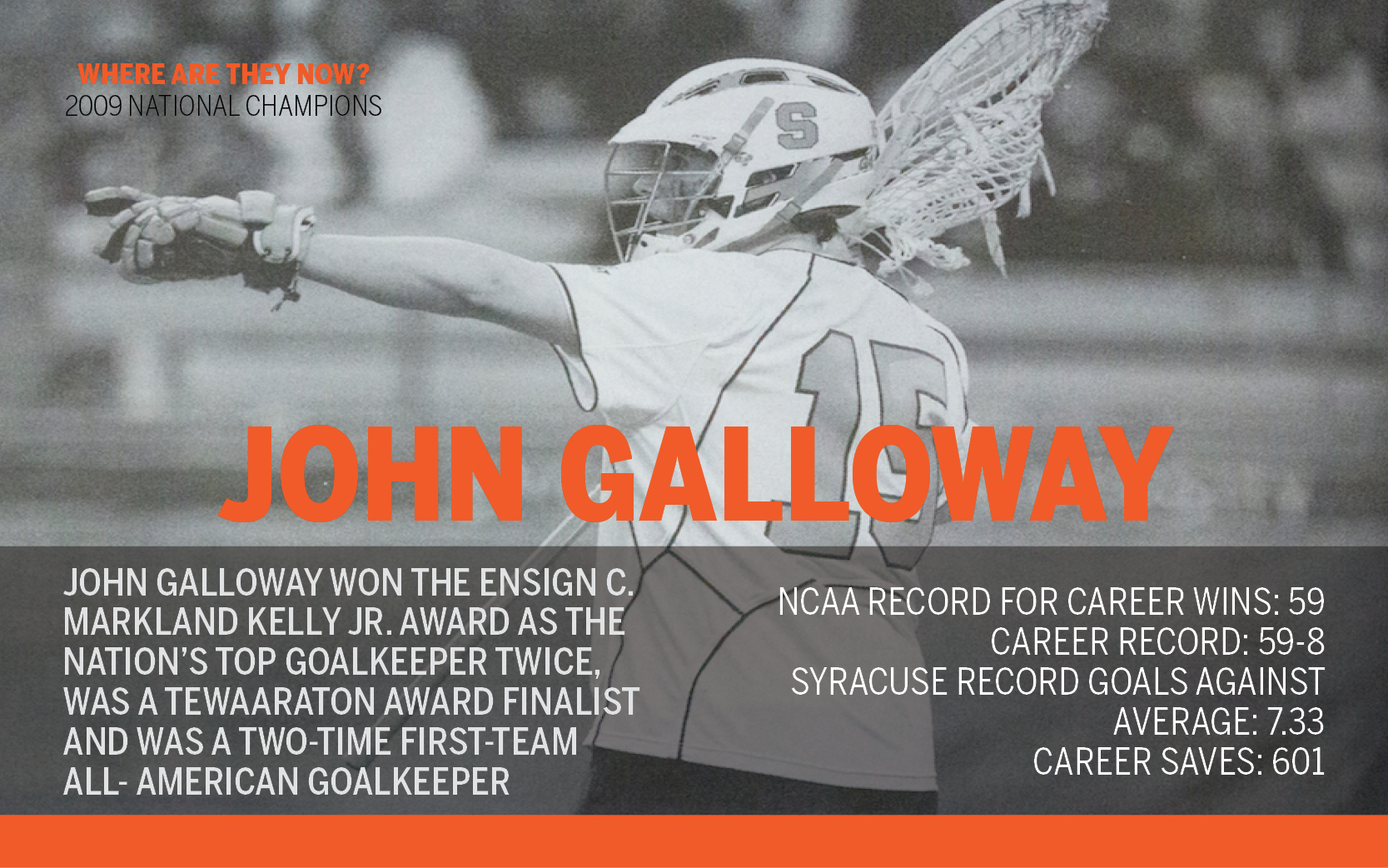 John Galloway is building Jacksonville lacrosse after 2 championships at Syracuse