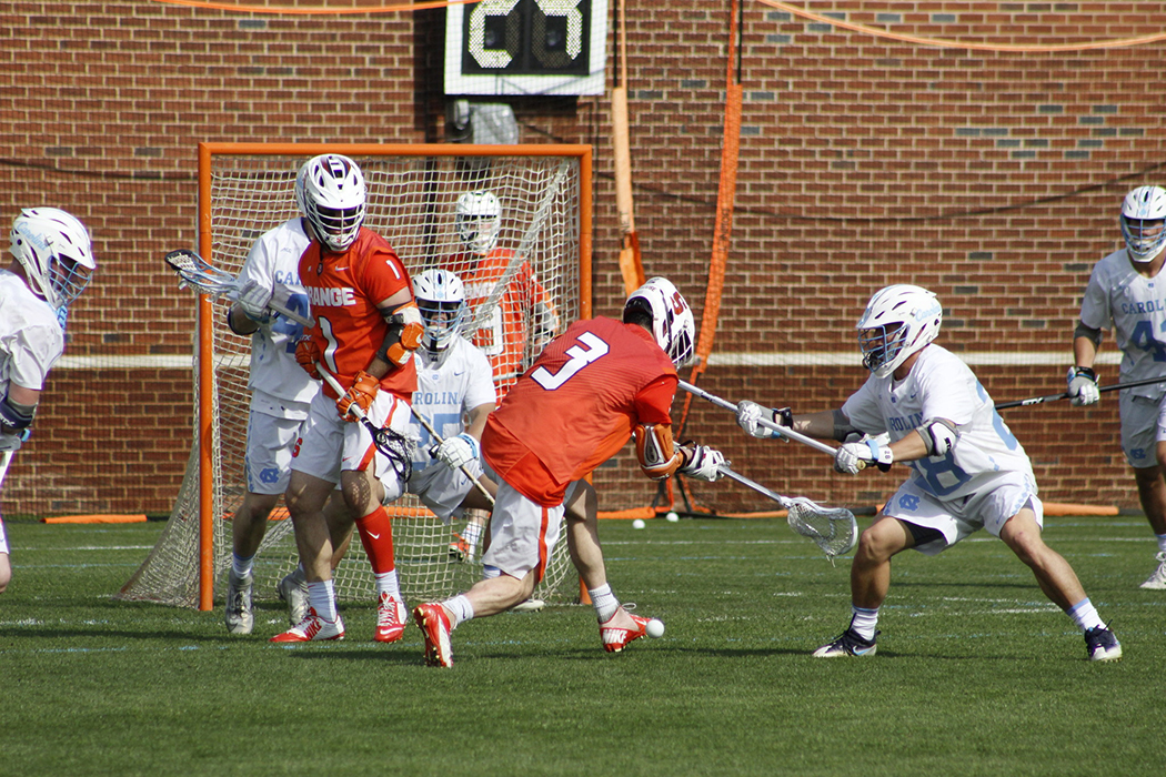 No. 4-seed Syracuse's offense flourishes as it initiates more scoring from behind the cage