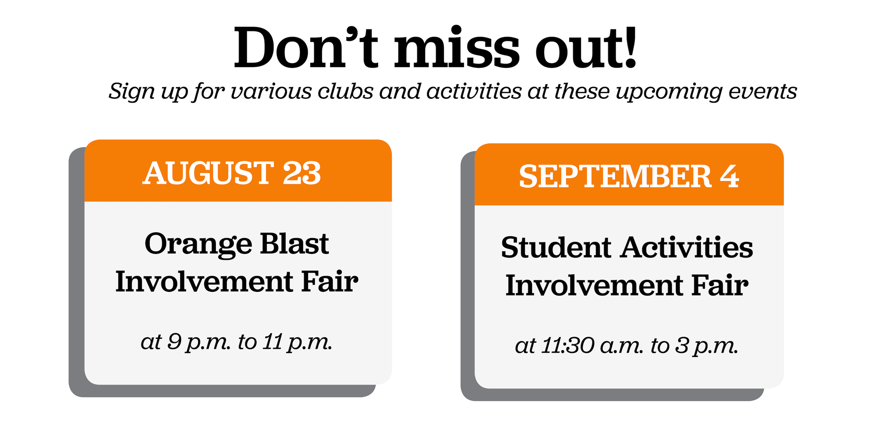 With more than 300 clubs at SU, joining one can help adjust to college life