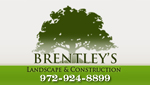 Website for Brentley's Landscape & Construction
