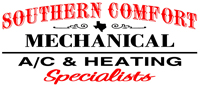 Website for Southern Comfort Mechanical Air Conditioning