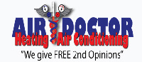 Website for Air Doctor Heating & Air Conditioning