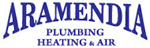 Website for Aramendia Plumbing Heating & Air