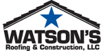Website for Watson's Roofing & Construction, LLC.