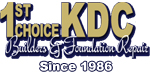 Website for 1st KDC Builders & Foundation Repair