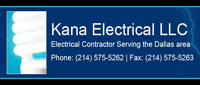 Website for Kana Electrical, LLC