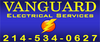 Website for Vanguard Electrical Services