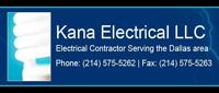 Website for Kana Electrical, LLC
