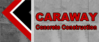 Website for Caraway Concrete Construction