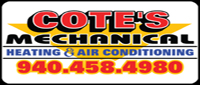 Website for Cote's Mechanical, LLC