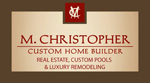 Website for M. Christopher Homes, LLC