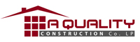 Website for A Quality Construction Company, LP