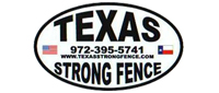 Website for Texas Strong Fence