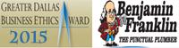 Website for Benjamin Franklin Plumbing