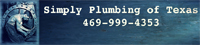 Website for Simply Plumbing of Texas